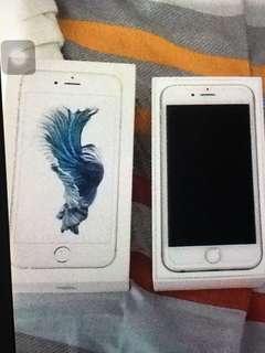 Iphone 6s 16gb silver globelocked