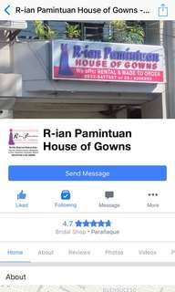 House of gowns