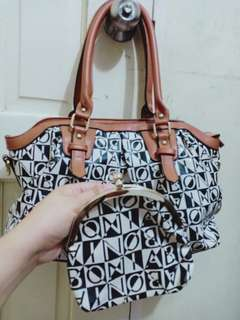 BONiA Bag W/wallet Terno