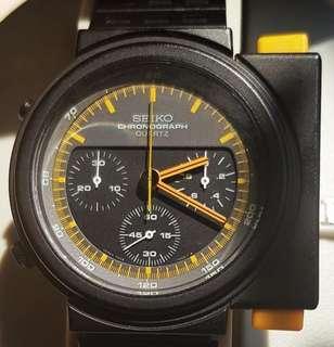 Extremely rare NOS Seiko Alien 7A28-7000 vintage chronograph