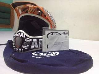 Arai VX-Pro 3  Pride Orange MX