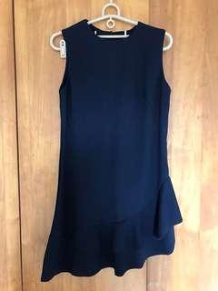Lulus深藍魚尾洋裝