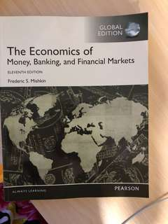 The one economics of money banking and financial