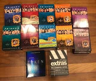 Friends season 1-10 / Taken / Extras season 1-2