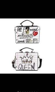 Box type handbag/sling