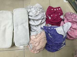 23 cloth diapers