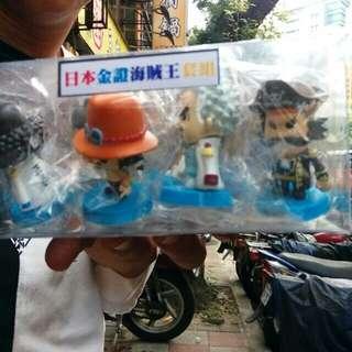 日本Q版海賊王七隻套組