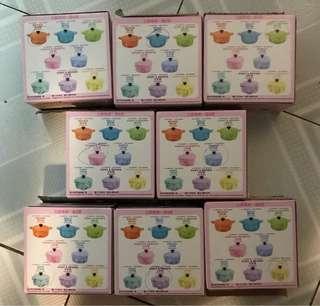 7-11 line friends x le creuset [竹]福糖果盒一套(未拆袋) 可換美心雙黃白蓮蓉月餅卷1張