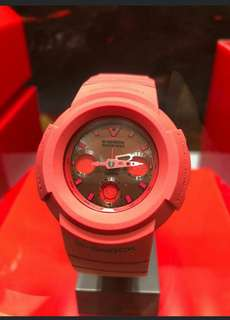 Brand New Casio 35th Aniversary Red-out Japan limited Edition 35週年 全新日本限量版