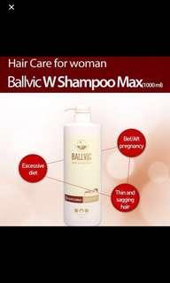 韓國Ballvic 女士脫髮洗頭水 (產後脫髮適用) 1000ml,3個月有效