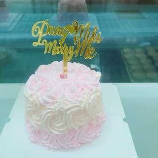 生日蛋糕派對求婚蛋糕結婚蛋糕