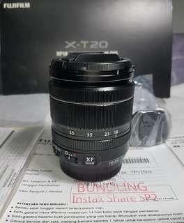 Fujinon XF 18-55mm FFID Nov18 Box Mulus Lensa Kit Fujifilm