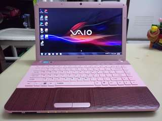 Sony Pink i5/Win7/4Gb/500Gb hdd/14.5inch /Gaming