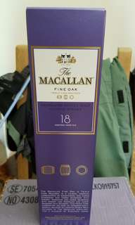Macallan Scotch Whisky Fine Oak 18 Years Old 麥卡倫18年威士忌酒
