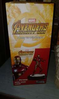 Petron Iron man table lamp
