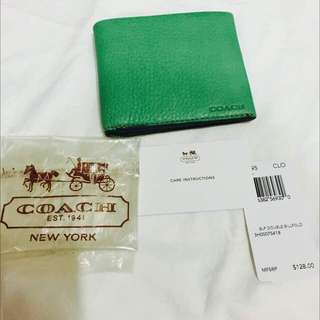 June Fire Sales ! BNWT Coach Men Wallet