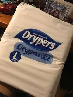 Drypers drypantz -Large