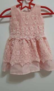 LITTLE BLESSING DRESS fits 6 to 12mos