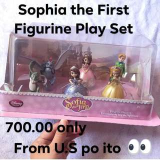 sophia the first figurine play set