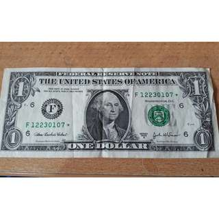 United States Of America Old Notes - $1