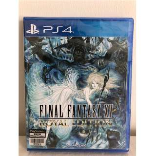 Final Fantasy XV Royal Edition (Brand New, Unredeemed codes)