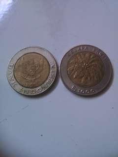 Uang koin seribu rupiah