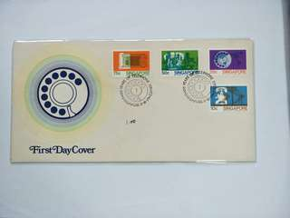 Singapore FDC Telephone Service
