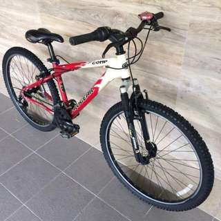 ProGear Comp 21 Speed MTB Bicycle Red