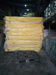 Insulation, Acoustic ceiling and Dry wall materials