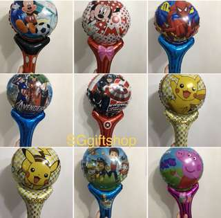 Assorted colors handheld balloons 🎈 goodies bag, preschool party goody bags gift