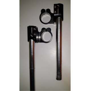 clip on handle bar for superbike 41mm