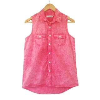 Bleached Pink Shirt