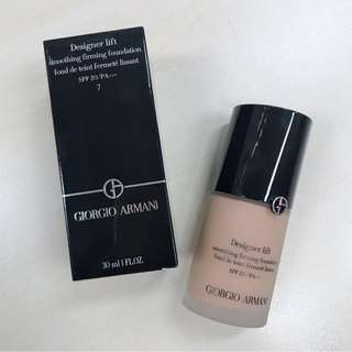 New! Giorgio Armani Power Fabric Foundation Colour 7