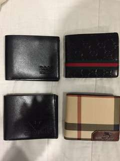 Designer great quality wallets need gone ASAP