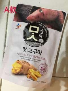 各款韓國零食
