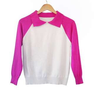 Two Colour Pullover