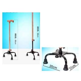 BN Premium 4 Quad Walking stick / support