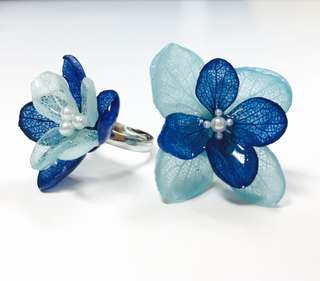 Real flower Jewellery workshop
