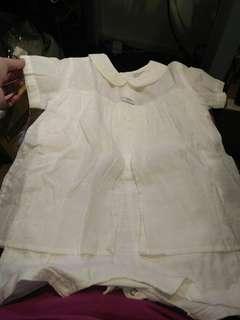 近新迪士尼全白洋裝