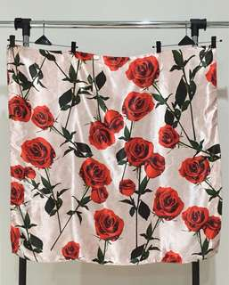Scarf / hijab persegi - rose
