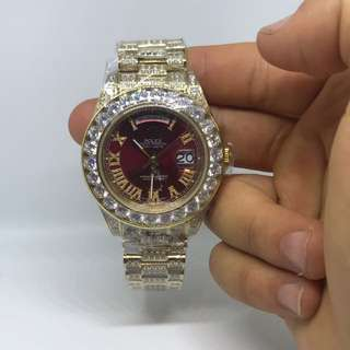 Men's Watch Rolex Iced Out