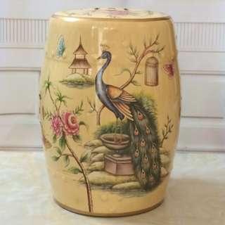 Ceramic Stool (TCGD14)