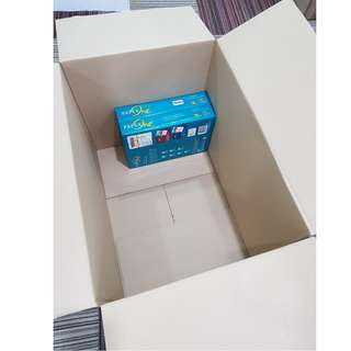 Large BRAND NEW non-printed carton boxes for sale! Good for moving house/office or use as storage!