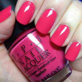 OPI – B35 CHARGED UP CHERRY 🌟 Brand New 🌟 Full Size Bottle 🌟 Clearing Stock!