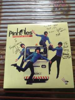 CD THE PINNHOLES YOUTH OF GOLD AUTOGRAHED COPY