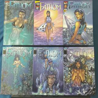 Fathom 23 Books (Michael Turner)