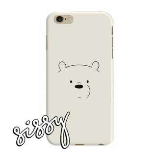 [WBBEARS5] WE BARE BEARS PHONE CASE
