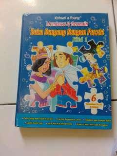 Buku dongeng anak puzzle