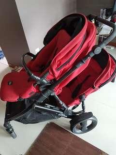 Britax b-dual double stroller