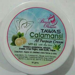 Tawas Calamansi all purpose cream by beauty obsessions